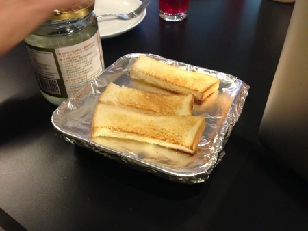 椰香烤吐司