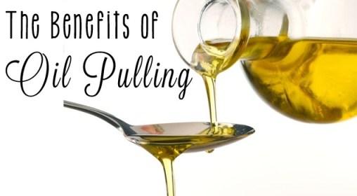 油漱法 oil pulling