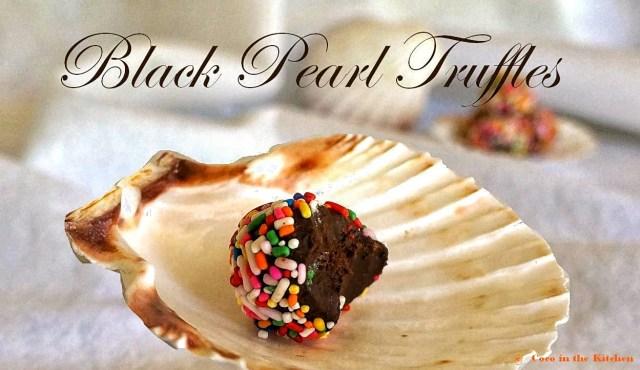 black pearl truffles