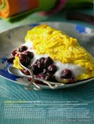 Version Fémina, sujet omelette, photographe Yves Bagros4