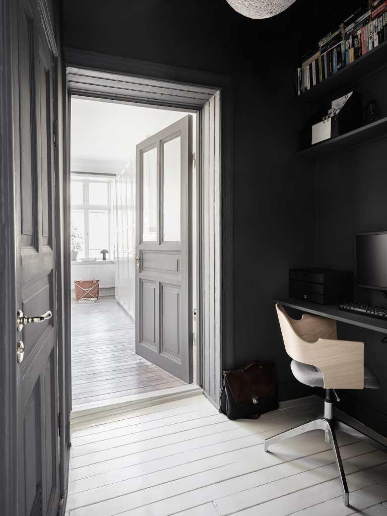Small hallway office