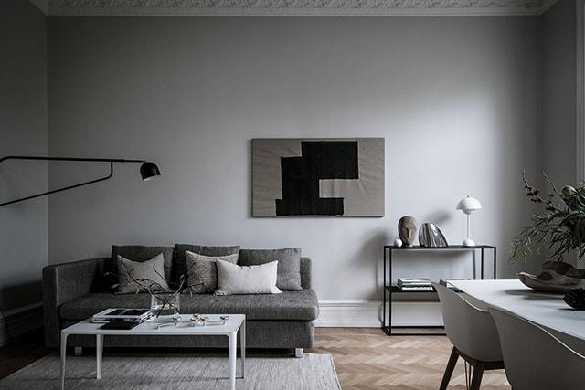 Fresh and elegant home - via Coco Lapine Design
