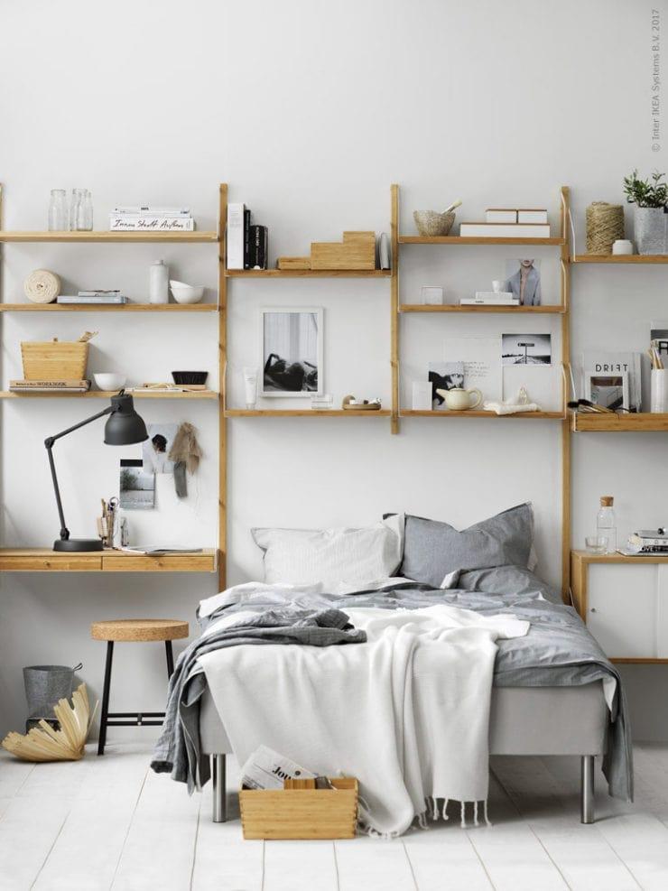 Ikea Svalnäs shelf - via Coco Lapine Design blog
