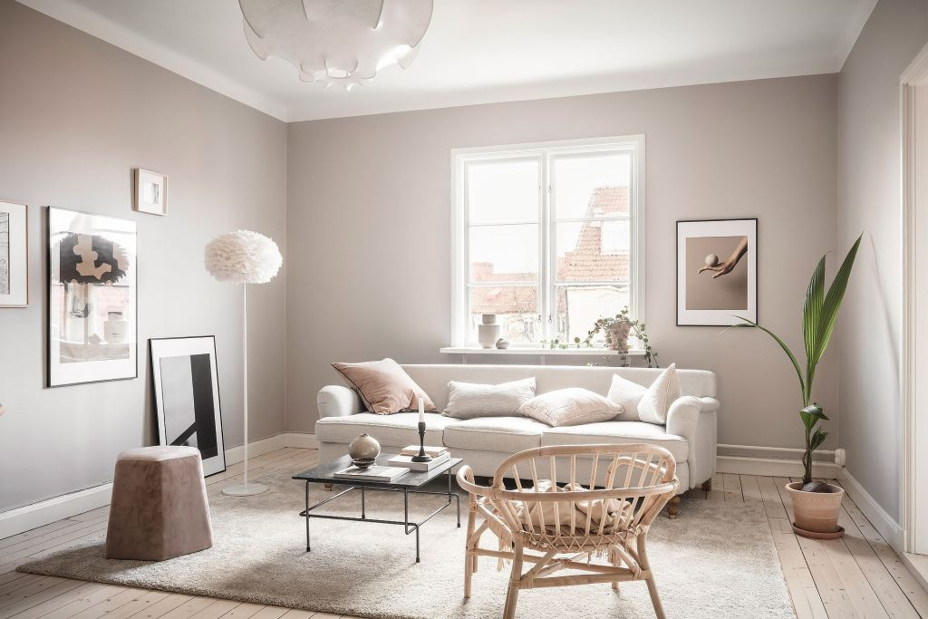 Home in a soft beige