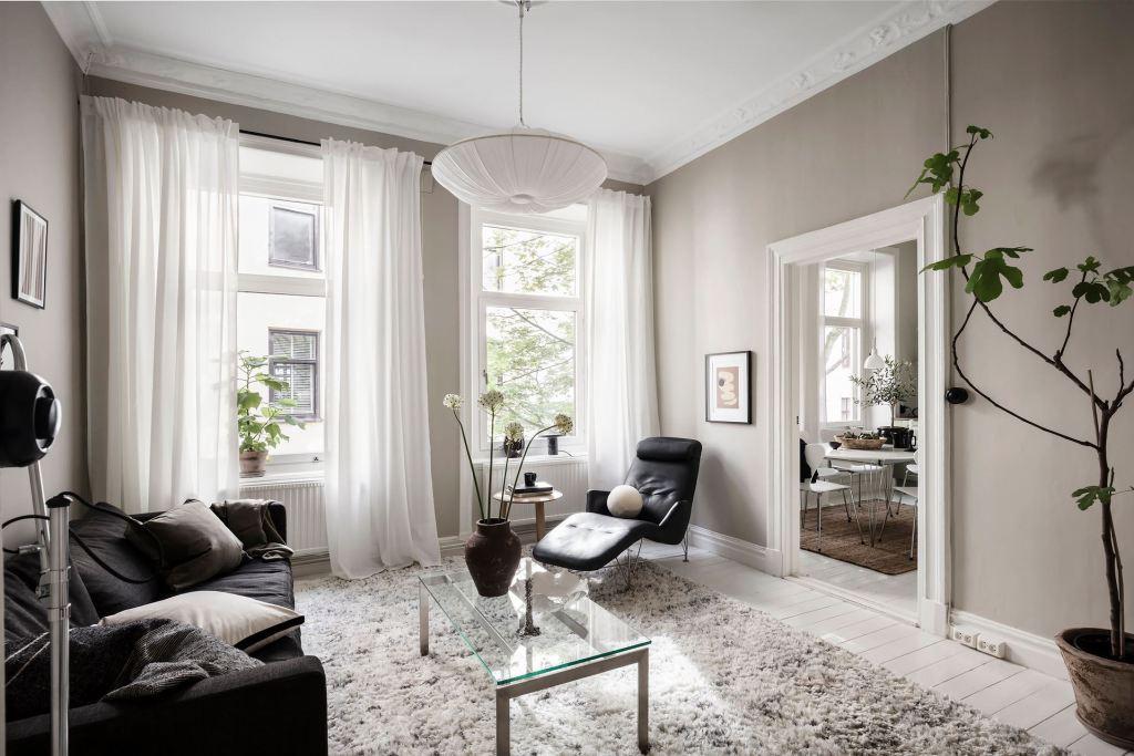 Inspiring apartment in muted tones