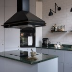 Grey Kitchen With Brass And Green Marble Coco Lapine Designcoco Lapine Design