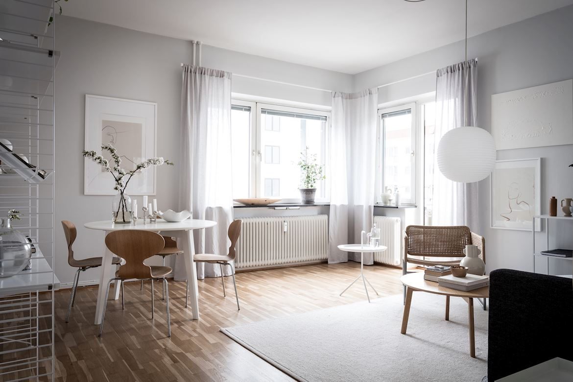 Beige And Grey Living Room With A Clean Look Coco Lapine