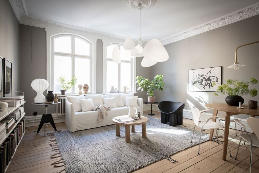 Cozy home with warm details