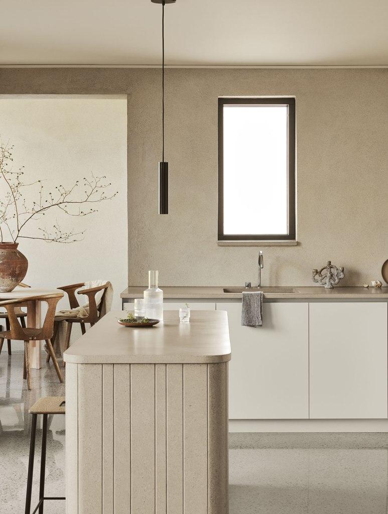 The villa Witte kitchen