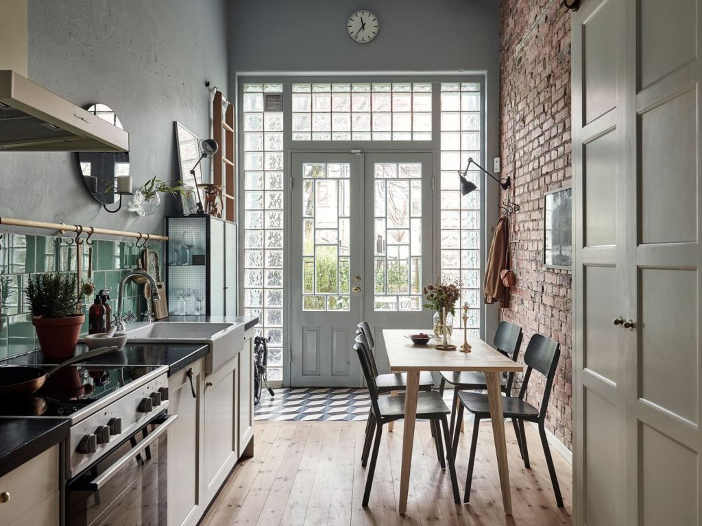 Quirky loft home with vintage elements
