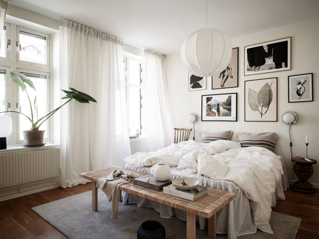 Cozy bedroom with character