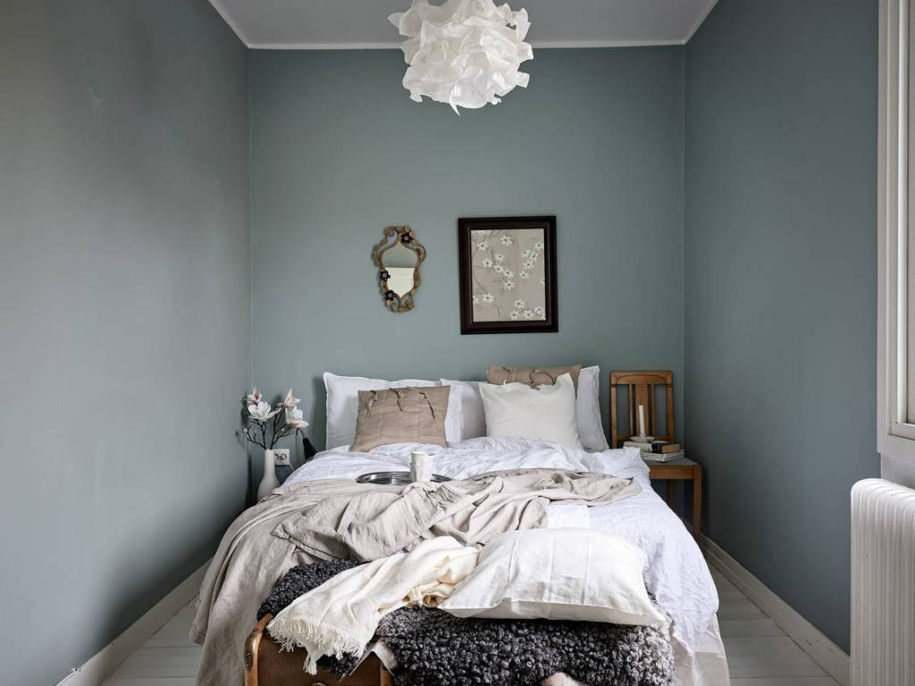 Cozy bedroom with a classic touch