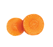 2 carrot slices