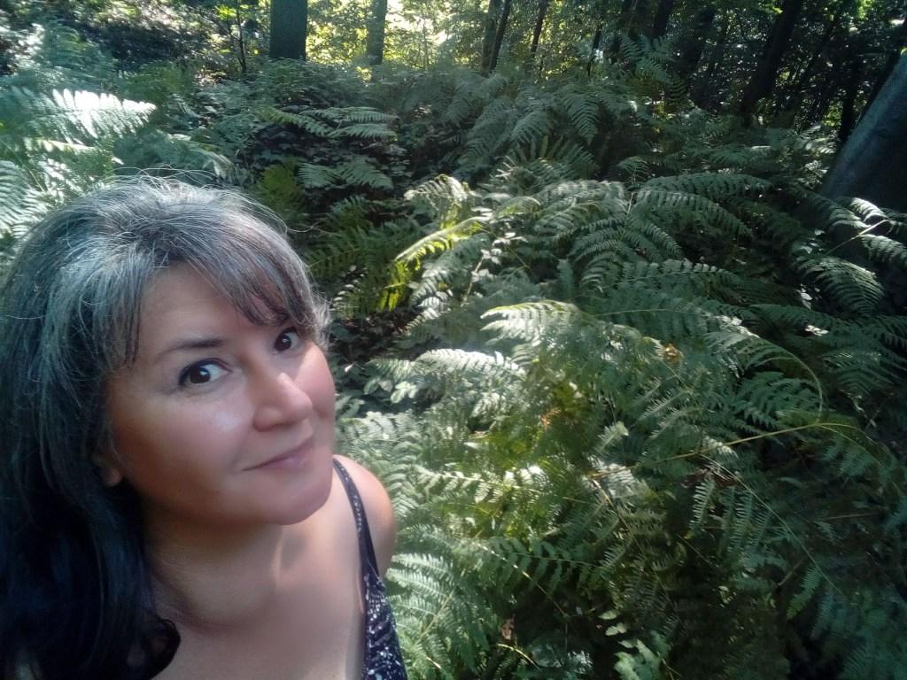 Véronique Staffe dans la nature