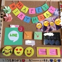 親友に贈る手作りの誕生日プレゼント!思い出の写真とコルクボードで