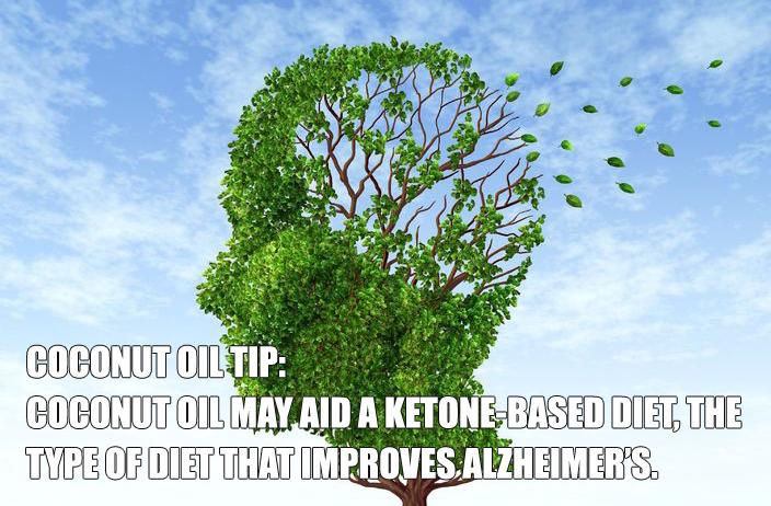 Coconut Oil for Alzheimer's Disease Treatment