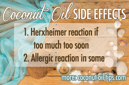 Coconut Oil Side Effects – The Culprits and Why