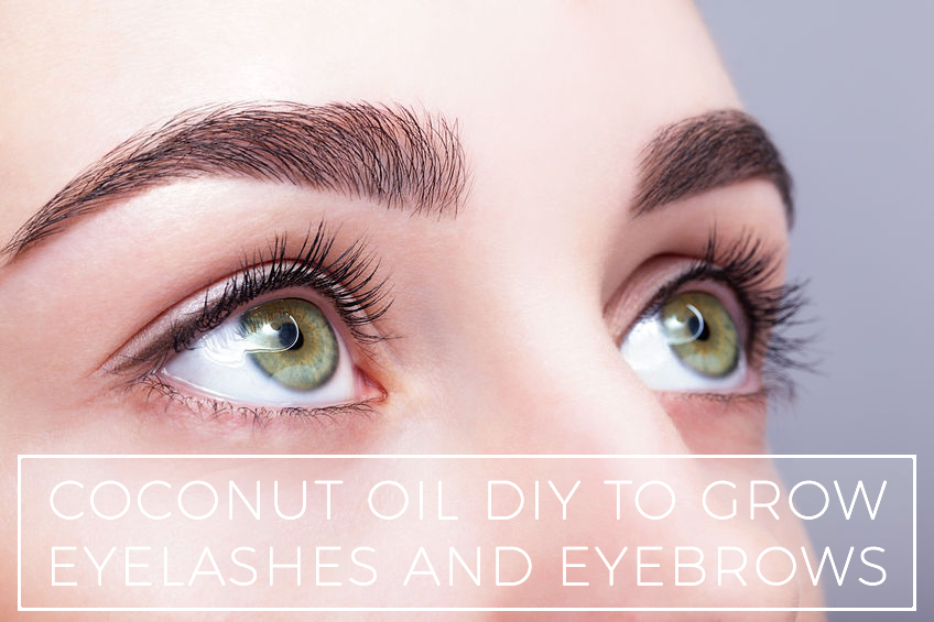 Coconut Oil For Eyelashes And Eyebrows Why And How To Use It