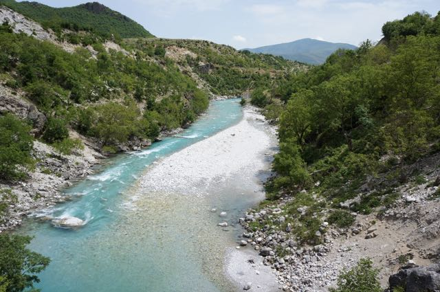 Picture: River in Albania
