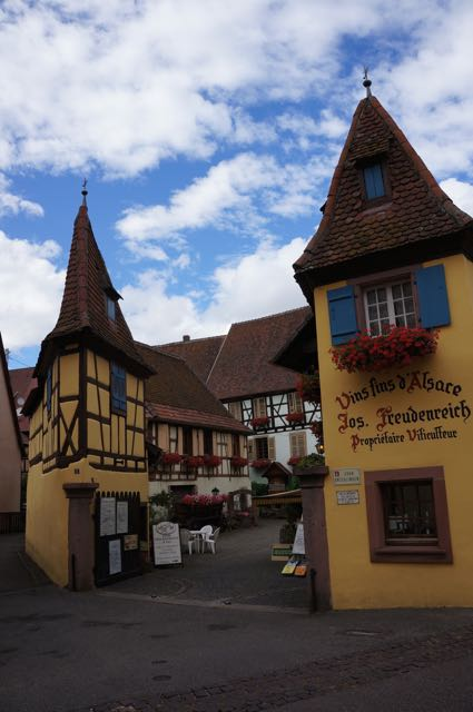 Eguisheim, Alsace, France. Photo: Eeva Routio.