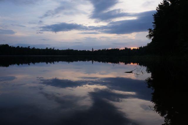 Midnight twilight in Karjaa, Finland. Photo: Eeva Routio.