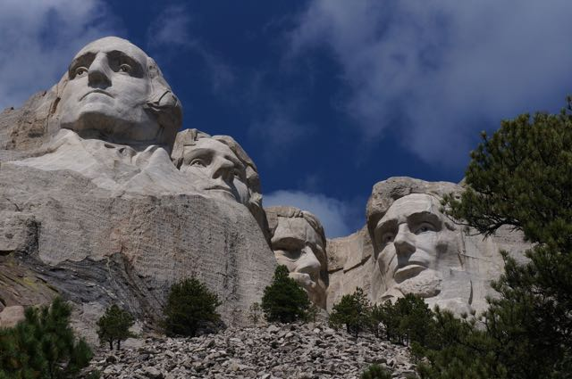 Mount Rushmore, South Dakota, USA. Photo: Eeva Routio.