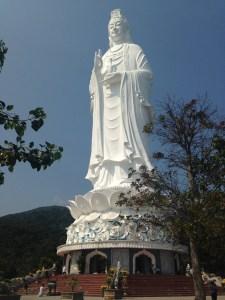 Lady Buddha at Son Tra Peninsula of Da Nang