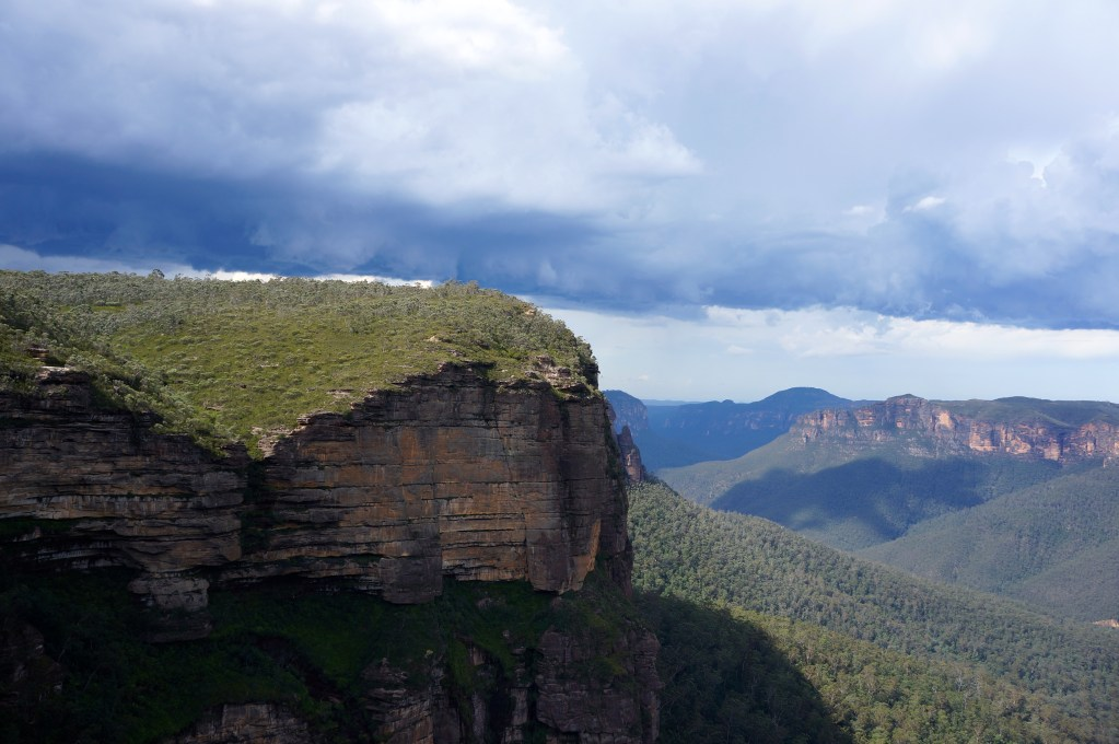 Govetts Leap Lookout, Blackheath, Blue Mountains, NSW, Australia. Photo: Eeva Routio.