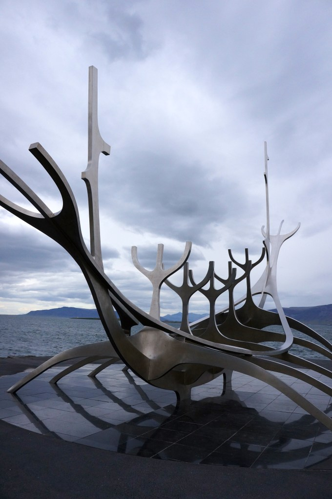 The Sun Voyager sculpture, Reykjavik, Iceland. Photo: Eeva Routio.