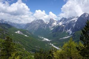 Albanian Alps. Photo: Eeva Routio.