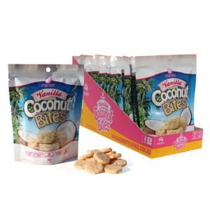 vanilla coconut bites