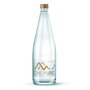 One Pure Sparkling Water 750mL