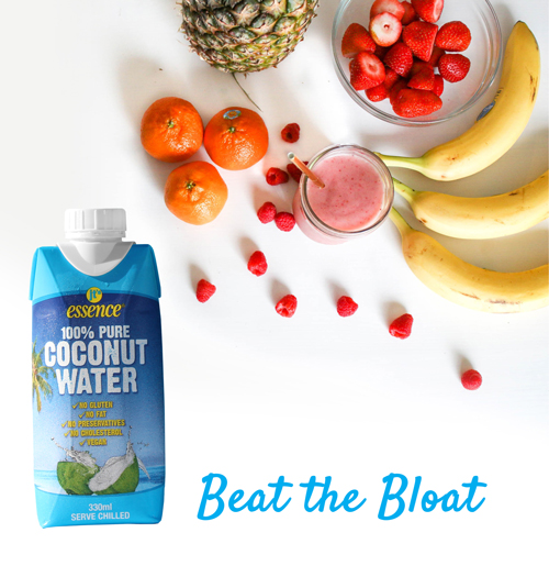 Coconut Water Beat the Bloat Smoothie!