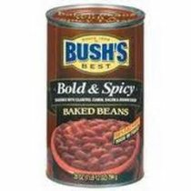 Bushs Bold and Spicy Baked Beans