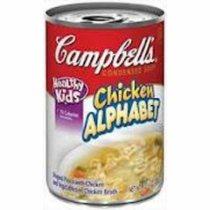 Campbells Chicken Alphabet