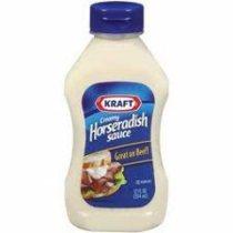 Kraft Squeeze Horseradish Sauce