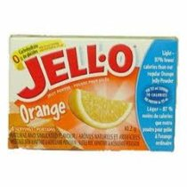 Orange Jell-O (not pre-made)