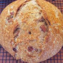 Balsamic Caramelized Onion bread