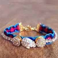 Emidesh embellished friendship bracelet