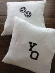 ~ Custom made cushions for my adorable nephew ~