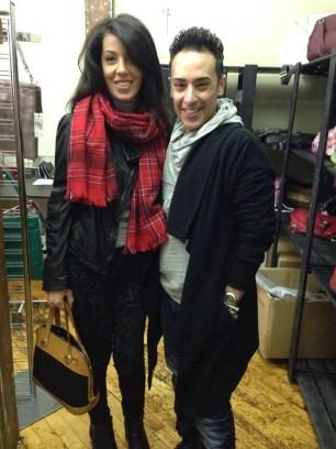 ~Lovely meeting Tarek Al-Azbat creative & head designer for Nella Bella ~