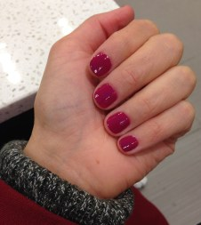 ~ A delicious berry manicure ~