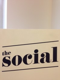 ~Attended live taping of The Social ~