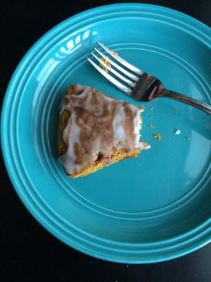 ~ Studio 89 gluten & vegan pumpkin scone ~