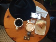 ~ Coffee & Blog with my hubby ~
