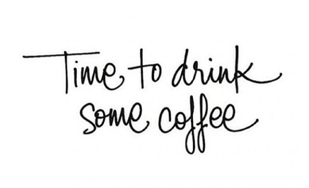 ~ Time to drink some coffee ~