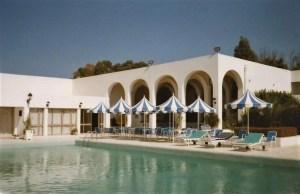 Pool at Hotel Sidi Bou Said, Tunisia