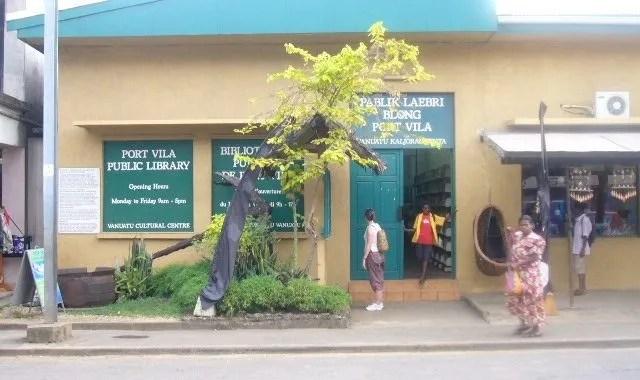 Port Vila public library