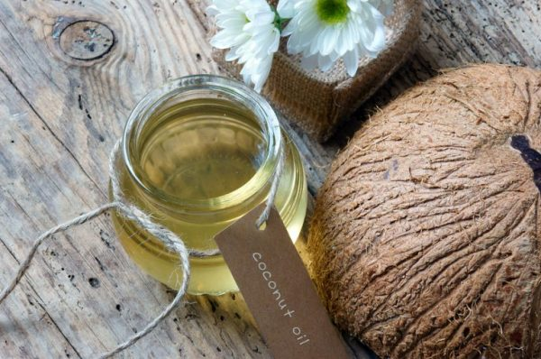 coconut oil for skin care