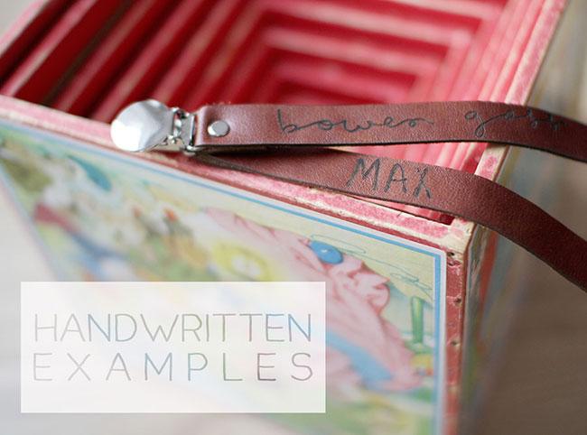 Handwritting-Clips